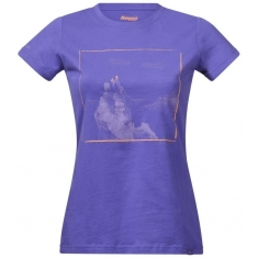 Bergans of Norway Svolværgeita Lady Tee FunkyPurple