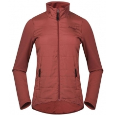 Bergans of Norway Stranda Hybrid W Jkt Lounge/Bordeaux