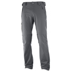 Salomon WAYFARER ZIP PANT M Forged Iron - 393117