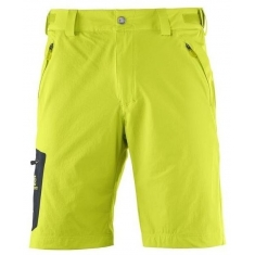 Salomon WAYFARER SHORT M LIME PUNCH. - 393191