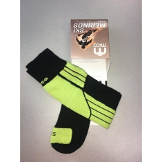 Mico ponožky LIGHT WEIGHT NATURAL MERINO SKI SOCKS - CA00112-160 - 2019