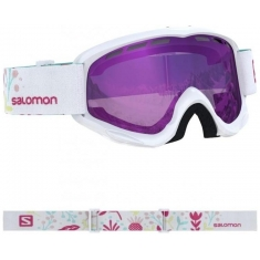 Salomon Brýle JUKE White/Univ Ruby - 408479 - 19/20