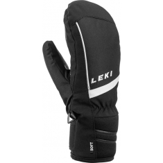 Rukavice Leki Max Junior Mitt black-white - 649807801 - 19/20