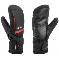 Rukavice Leki Mia Junior Mitt black-rose - 649809802 - 19/20