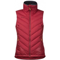 Bergans of Norway Nosi Hybrid Down Lady Vest Red/Burgundy