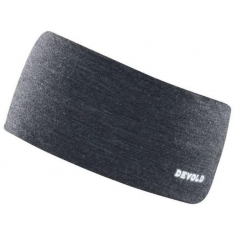 Devold Running Headband W/Reflex Anthracite