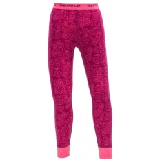Devold Active Kid Long Johns Plum