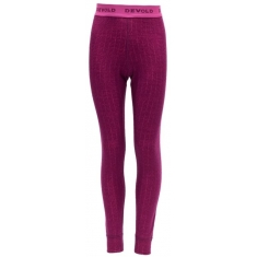 Devold Duo Active Junior Long Johns Plum