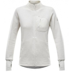 Devold Thermo Woman Jacket Raw white