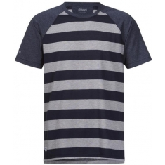 Bergans of Norway Filtvet Tee Grey Mel/Navy Stripe