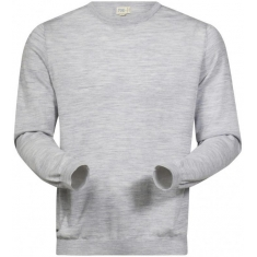 Bergans of Norway Fivel Wool Long Sleeve Alu Mel