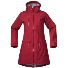 Bergans of Norway Hella Lady Coat Red/Strawberry
