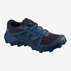 Salomon WILDCROSS GTX Navy Blaze - 411196 - 2020