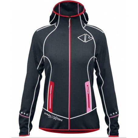 Mikina CRAZY ACCELERATION WOMAN - RED