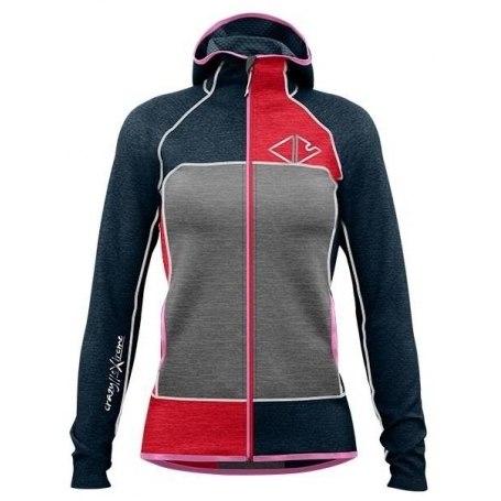 Mikina CRAZY IONIC WOMAN - RED