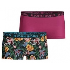 Spodní prádlo Bjorn Borg MINISHORTS BB STRONG FLOWER MINI 2p