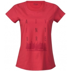 Bergans of Norway Adventure W Tee Strawberry/Red/Burgu