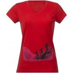 Bergans of Norway Tur Wool Ladytee Br Red